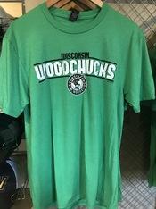 2020 Wisconsin Woodhucks Green T-shirt